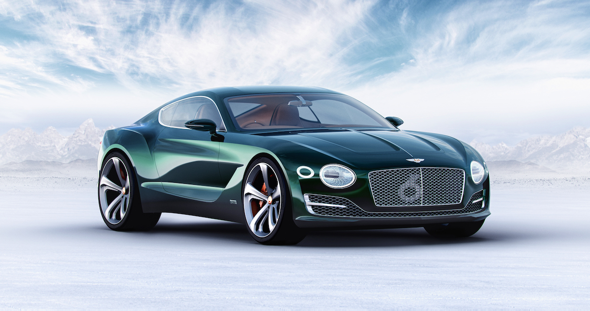 Bentley EXP 12 Speed 6e – Neben der Spur