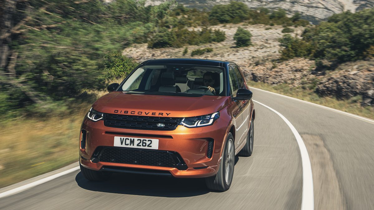 Fahrbericht Land Rover Discovery Sport – Stock – Stein – Boulevard